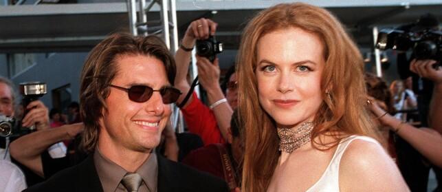 OVERRASKENDE BRUDD: Nicole Kidman har tidligere åpnet seg om sjokket hun fikk da Tom Cruise helt ut av det blå ønsket å skille seg fra henne i 2001.  Foto: NTB scanpix