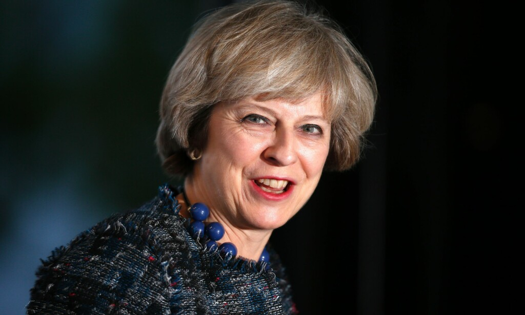 VET HVA HUN HAR I VENTE: Storbritannias statsminister Theresa May har en durabel dragkamp foran seg i året som kommer når Storbritannia etter planen skal starte utmeldingen av EU. Foto: AFP / NTB Scanpix