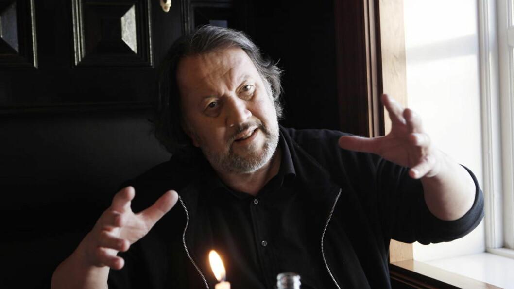 <strong>BOIKOTTER:</strong> Bjørn Eidsvåg er klar på at GramArt ikke fungerer som musikernes venn når de har inngått en avtale med VG om å få norske musikere til å snakke om hvor ofte de går på fylla. Foto: Erling Hægeland