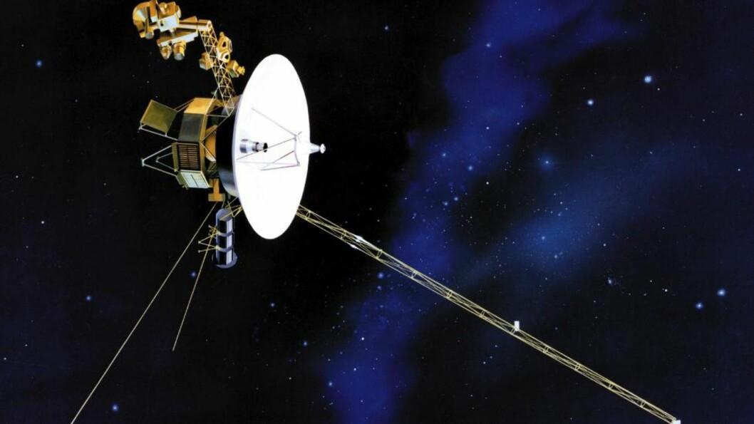 SERVER? Kommer utrangerte romsonder, som «Voyager 1» (bildet), til å fungere som fremtidens internettservere? Foto: AP