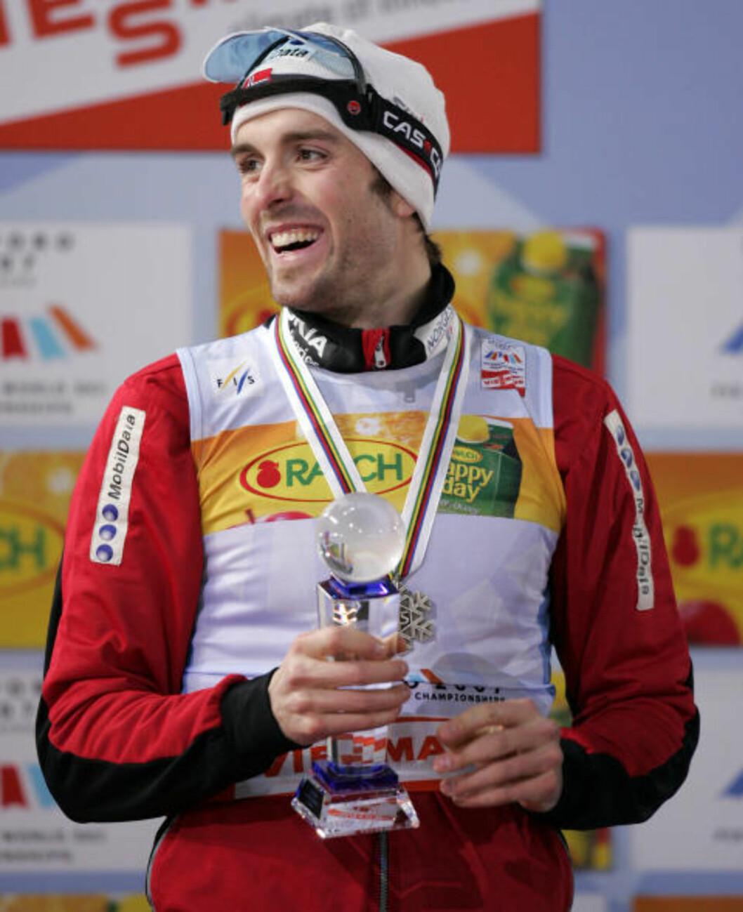<strong>SAPPORO-SØLV:</strong> Magnus Moan  tok sølv i kombinert sprint under VM på ski i Sapporo Dome i 2007.Foto: Erlend Aas / SCANPIX