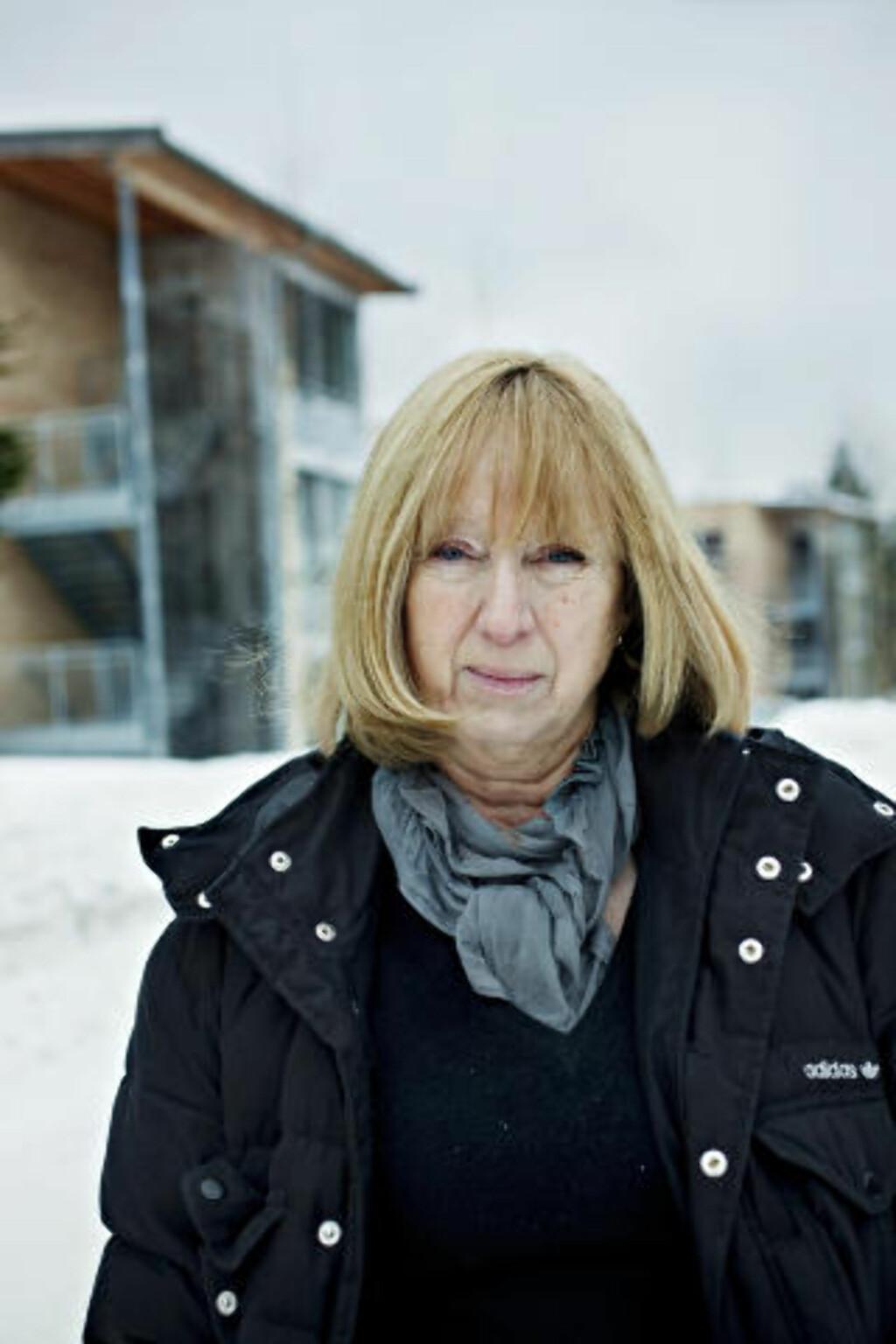 FØLER SEG SVEKET: - Vi har følt oss så sviktet, forlatt og alene. Politikerne må skjønne hva de gjør mot oss, sier sykepleier ved Midtåsenhjemmet på Nordstrand, Birgit Rekvig Berg. Foto: NINA HANSEN/DAGBLADET
