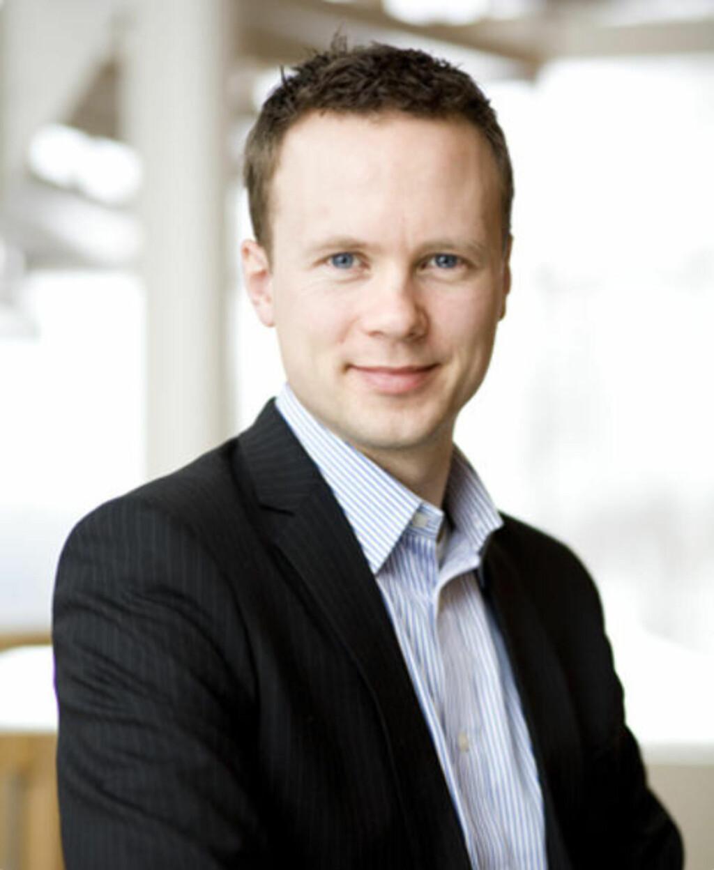ADECCOS LEDER: Anders Øwre-Johnsen, konserndirektør i Adecco, leder arbeidet for å redde den skandaliserte bemanningsgigantens navn og rykte. Foto: ADECCO