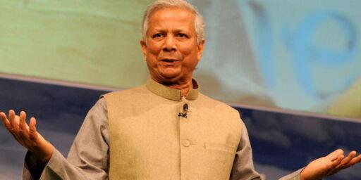 image: Yunus sparket fra Grameen Bank
