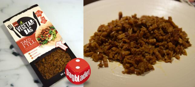 TACOFYLL: Det finnes morsommere ting du kan ha i tacoen din. Prøv heller med bønner eller sopp.