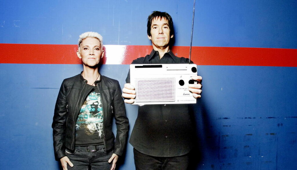 ANKLAGES FOR REFRENGRAPPING FRA RADIOLÅT: Marie Fredrikkson og Per Gessle i Roxette, en av Sveriges største popsuksesser, bli anklaget for å ha stjålet et refreng fra et norsk band på «She's Got Nothing on (But the Radio)». Foto: Lars Myhren Holand / Dagbladet