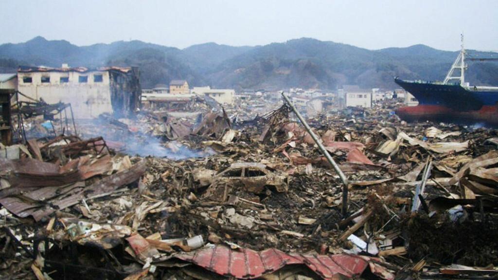 HIMMELSK STRAFF: Shintaro Ishihara mener tsunamien i Japan er himmelsk straff. Foto: Scanpix/JIJI PRESS