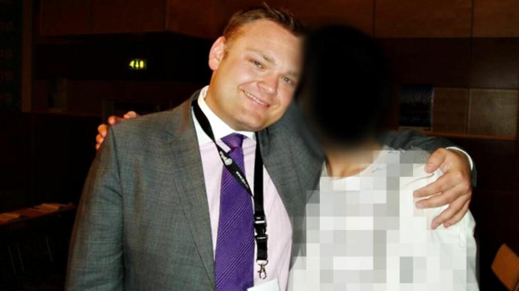 NYE BESKYLDNINGER: Trond Birkedal avbildet sammen med gutten som sier han hadde sex med Frp-toppen sommeren 2008 da han var 15 år gammel. Bildet er tatt samme vår.