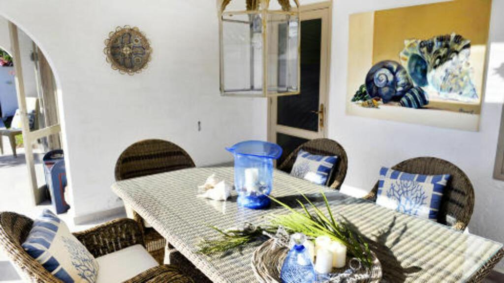 UTELIV:  På Gran Canaria kan alle måltider spises ute hele vinteren. Foto: John Terje Pedersen/Dagbladet