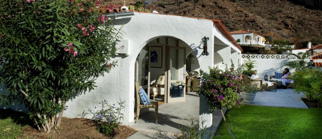 Gran Canaria 20101130 Bygget drømmehuset på Gran Canaria. Ektepartet Svein Olav Tønnesen og Gro Holzweiler har en liten oase i Tauro. Foto: John T. Pedersen/Dagbladet