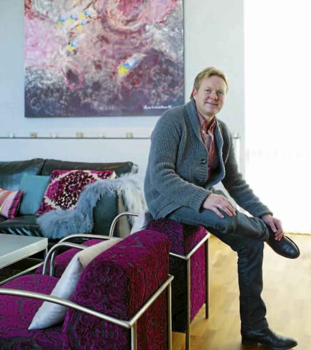 se den fargerike boligen dagbladet. Black Bedroom Furniture Sets. Home Design Ideas