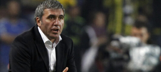 Hagi fikk sparken i Galatasaray