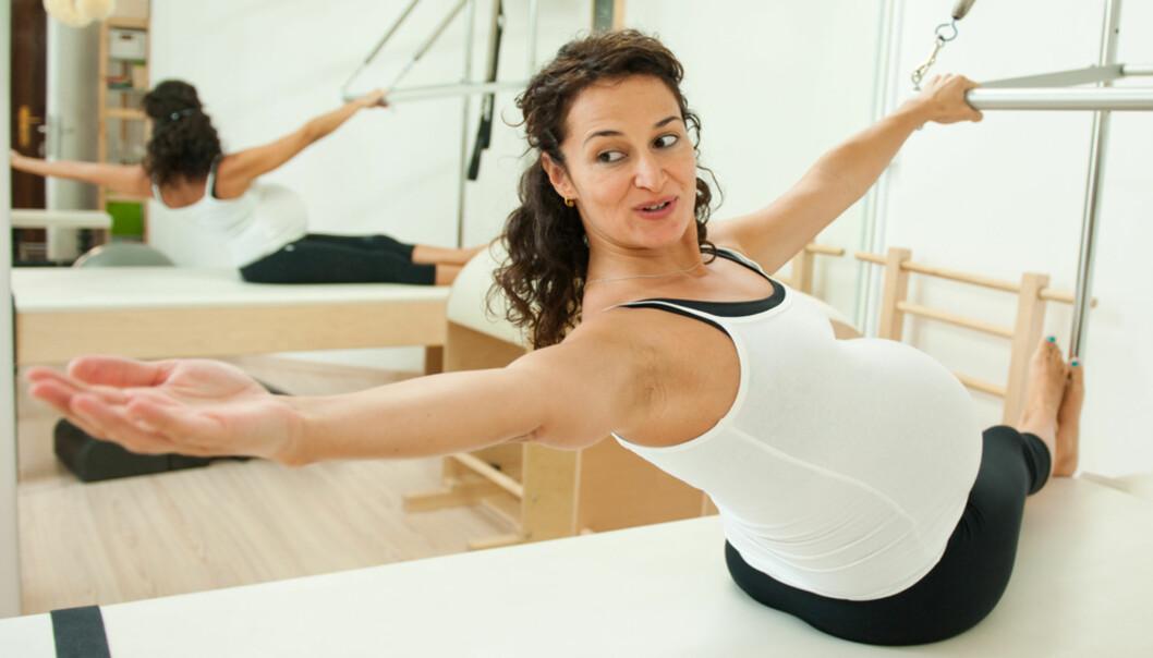 Derfor må du trene magemusklene annerledes når du er gravid