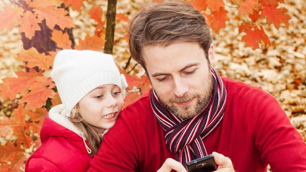 MER OPPTATT AV MOBILEN? Foto: Shutterstock