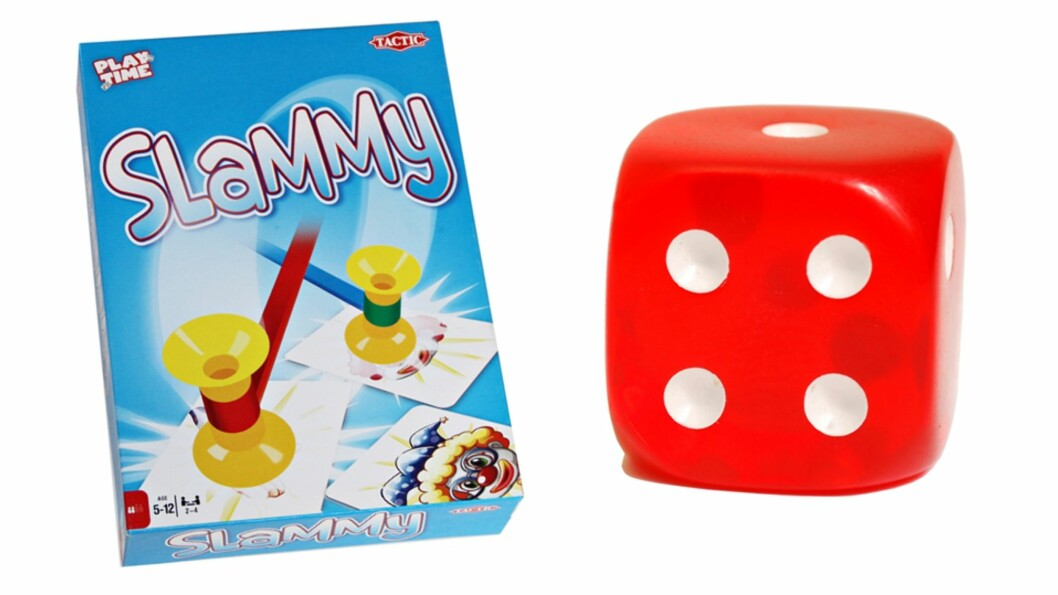 SLAMMY: Morsomt spill som lar deg hamre løs! Foto: Produsenten