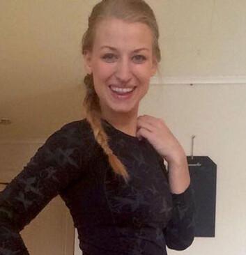 TINA ANITA SCOTT: Sprek, gravid ishockeyspiller. Foto: privat