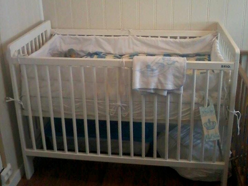 TOM BABYSENG: Sigmunds soverom står fortsatt slik det gjorde den dagen han ble født. Foto: Privat
