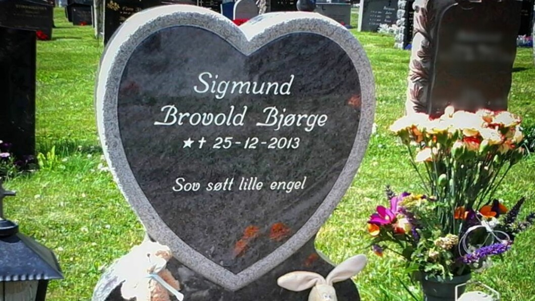 <b>ENGLEMAMMA:</b> Tonje Beates sønn døde i magen hennes bare fire uker før termin. Foto: Privat