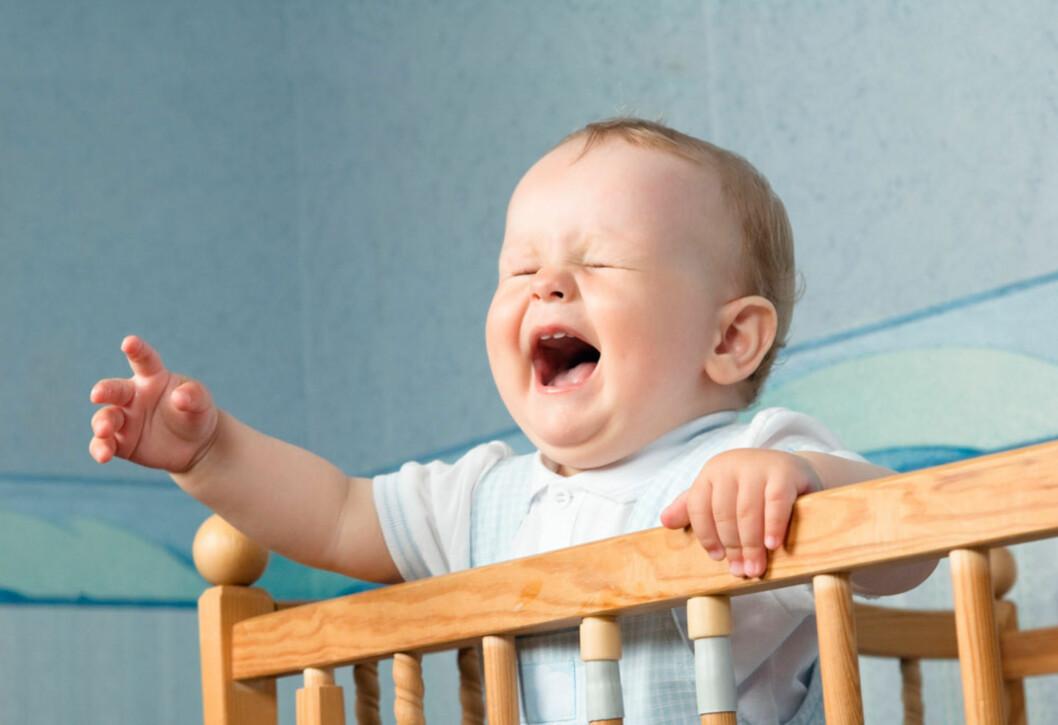 <b>VÅKNER STADIG:</b> Kjent problemstilling for de fleste foreldre. Foto: Shutterstock ©