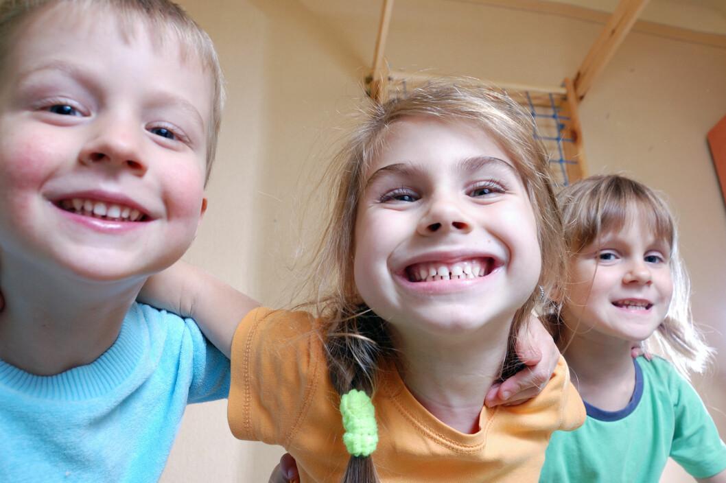 <strong>SAVNET IKKE LEKENE:</strong> Barnehagen opplevde at leken ble mer fantasifull og konfliktene færre da de fjernet lekene. Foto: Shutterstock