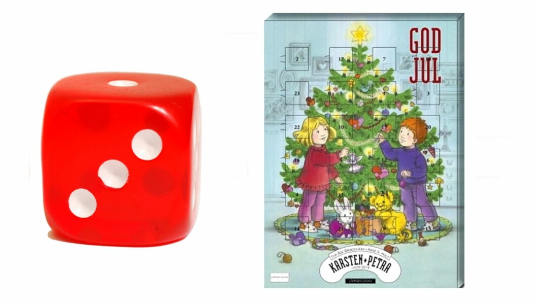 KARSTEN OG PETRA: Denne kalenderen vil nok slå godt an hos Karsten og Petra fans, men ikke hos så mange andre. Foto: Produsenten