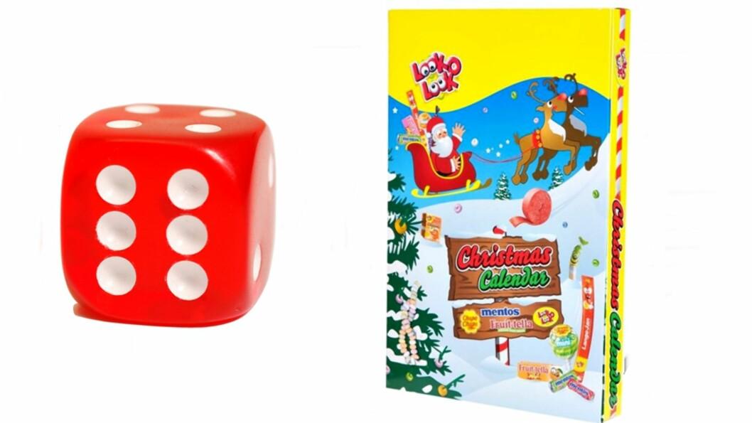 LOOK O LOOK: Dette er kalenderen for de som vil ha søtsaker i mange forskjellige former. Foto: Sparkjøp