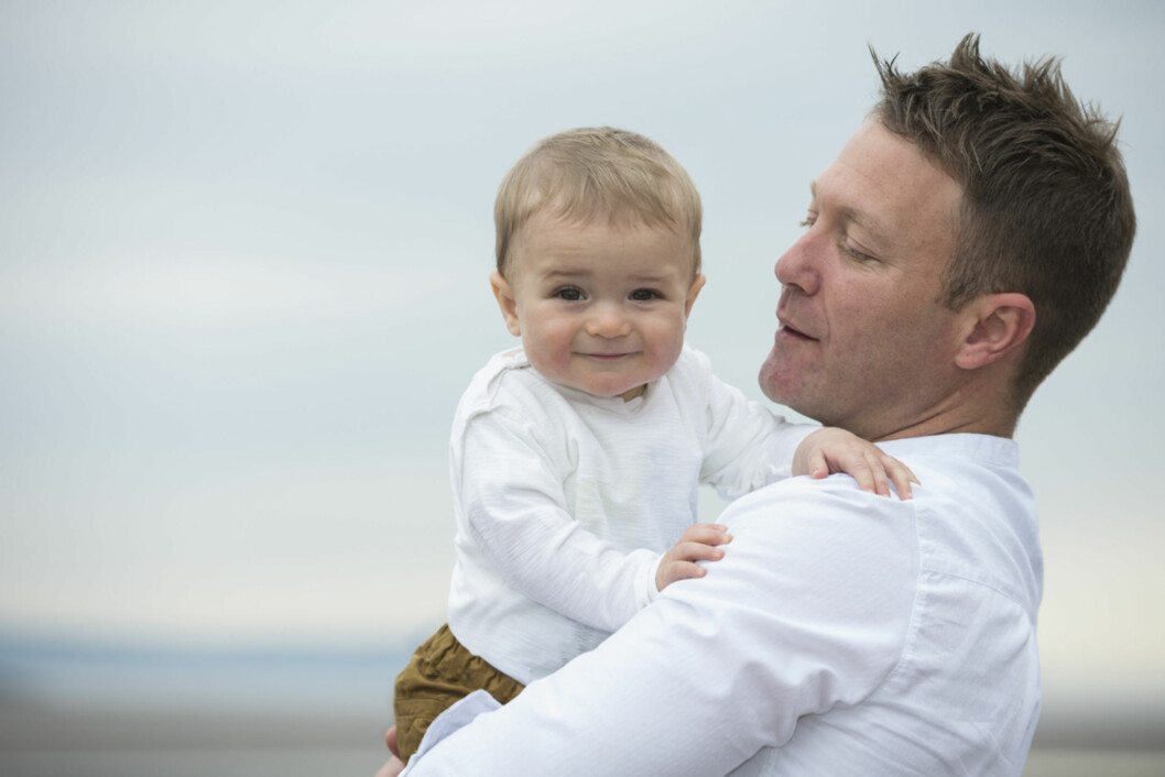 LIK PAPPAEN SIN: Å anbefale at han tar en farskapstest er kanskje ment å være morsomt, men blir ikke alltid like godt mottatt. Foto: Shutterstock Foto: Shutterstock ©