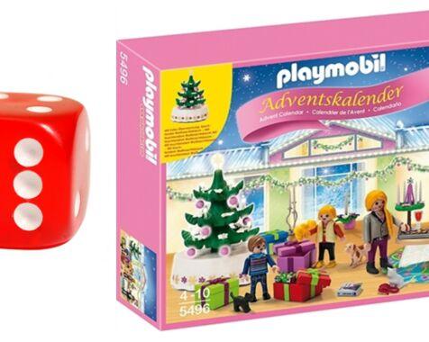image: Playmobil julestue julekalender