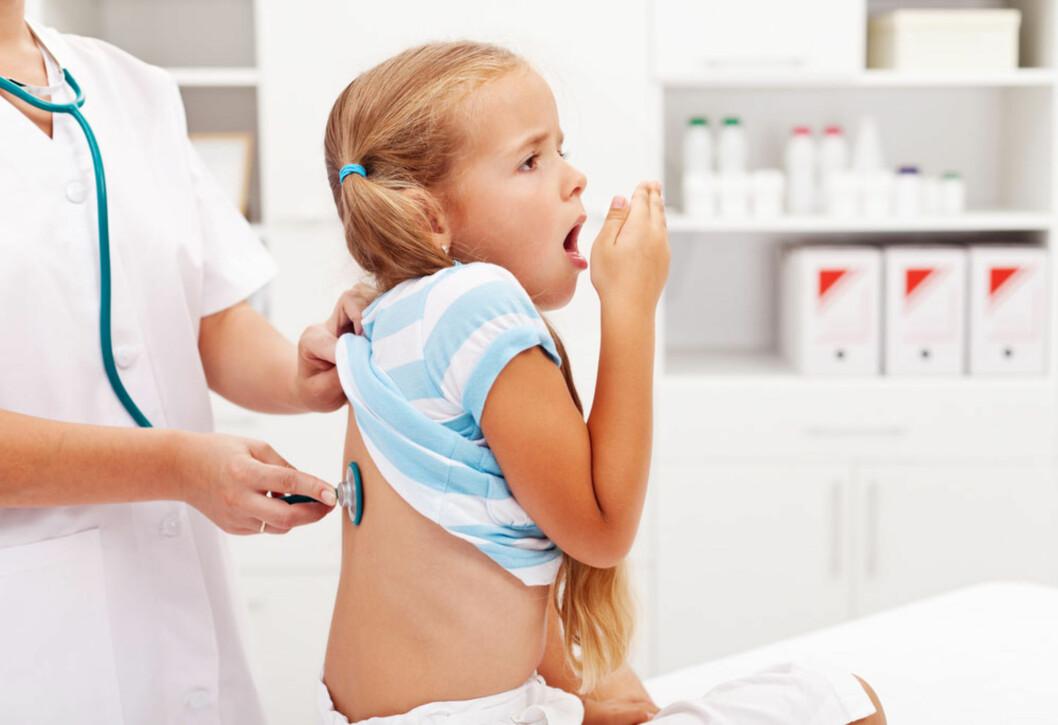 <b>HOST, HOST</b> Vanlig symptom ved forkjølelse og luftveisinfeksjoner. Foto: Shutterstock.com ©