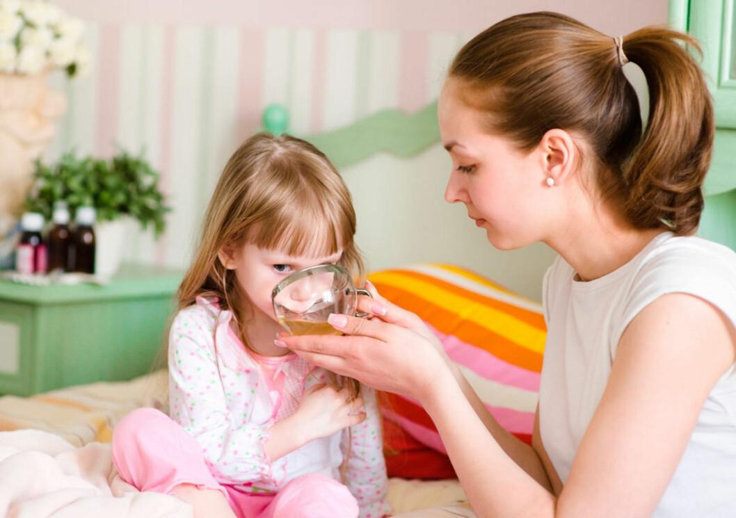 TILBY OFTE DRIKKE: Det beste rådet til foreldrene! Foto: Shutterstock ©
