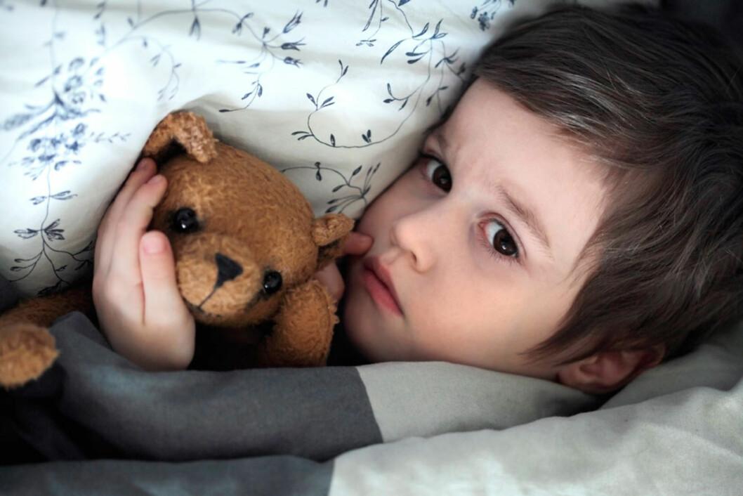 <strong><b>SYKDOMMEN ALLE FÅR:</strong> </b>Omgangssyke er svært vanlig, og dobbelt så vanlig blant barnehagebarn som lettere får smitte. Foto: Shutterstock ©