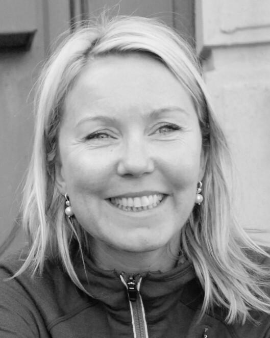 <strong>EKSTREMT SIKKERHETSHYSTERI:</strong> Ellen Beate Hansen Sandseter håper vi aldri får amerikanske tilstander her i Norge. Foto: Privat