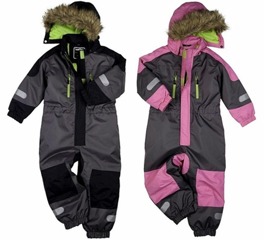 GOD KVALITET: Dressene fra det norske merket Reflex er perfekt på de våteste vinterdager. Foto: Produsenten