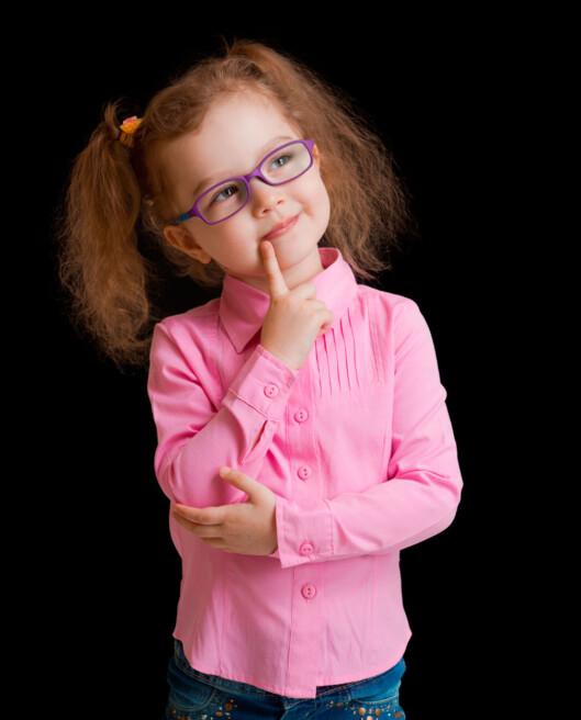 LØSNINGEN: En brille løser problemet!  Foto: Shutterstock.com ©