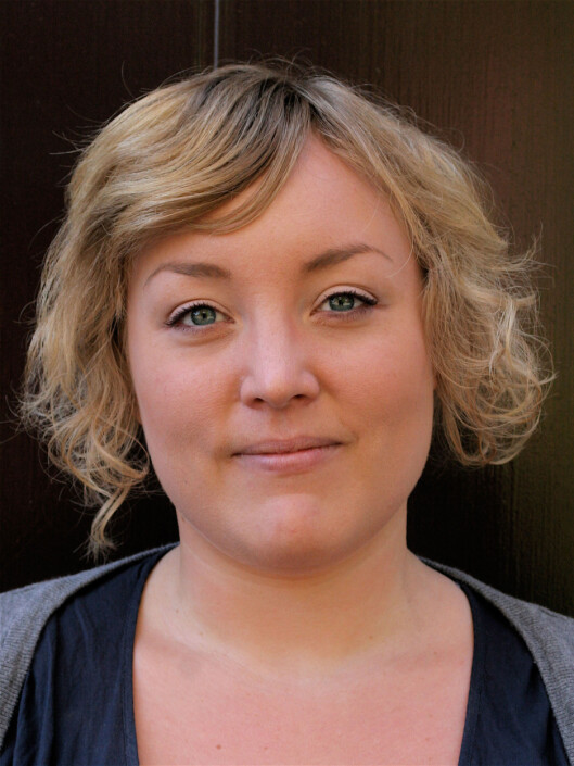 FORSKET PÅ VALGET I Å FÅ BARN: Sosiolog Erin Pedersen Foto: UiO