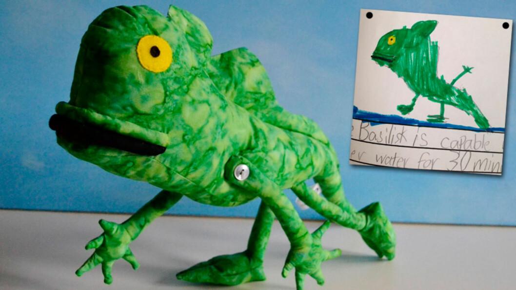 <strong>LAGER DET BARNET TEGNER:</strong> Og resultatet blir helt fantastisk! Foto: Childsown.com