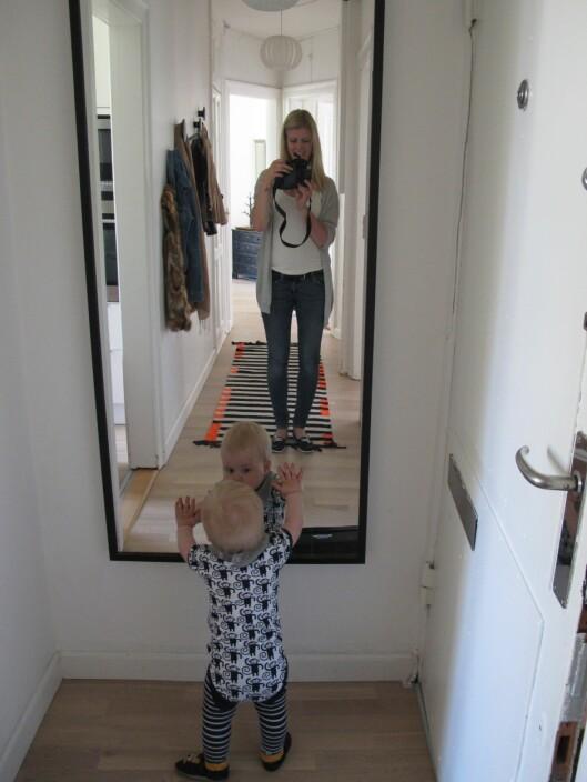 <strong>PRAKTISK:</strong> Kjekt å leie leilighet med eget rom til Max, synes Kirsti Wiik.  Foto: Privat