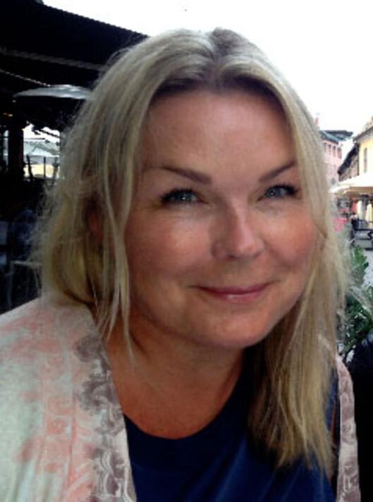 SØPPEL-TV: - Produsentene får bare forakt fra meg, sier jordmor Tove Nordahl. Foto: privat