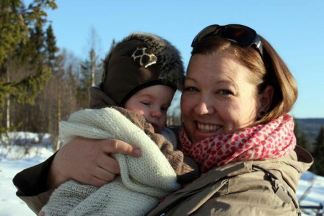 Kristine tok selv initiativ til å treffe andre mødre.