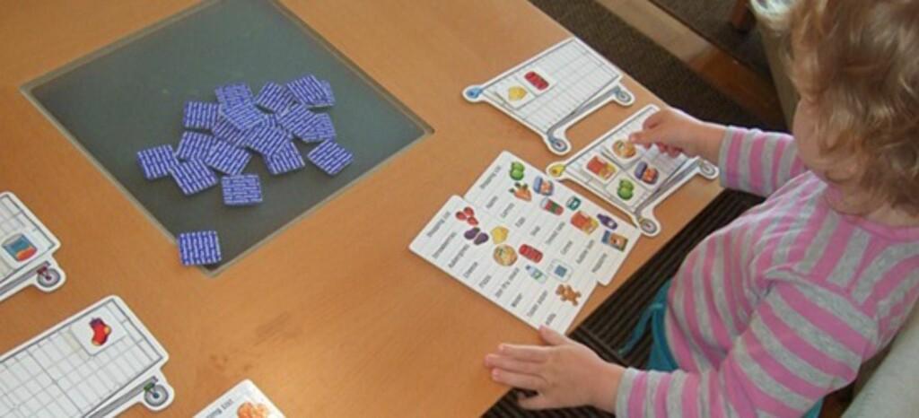 En språkmektig fireåring. Foto: Privat