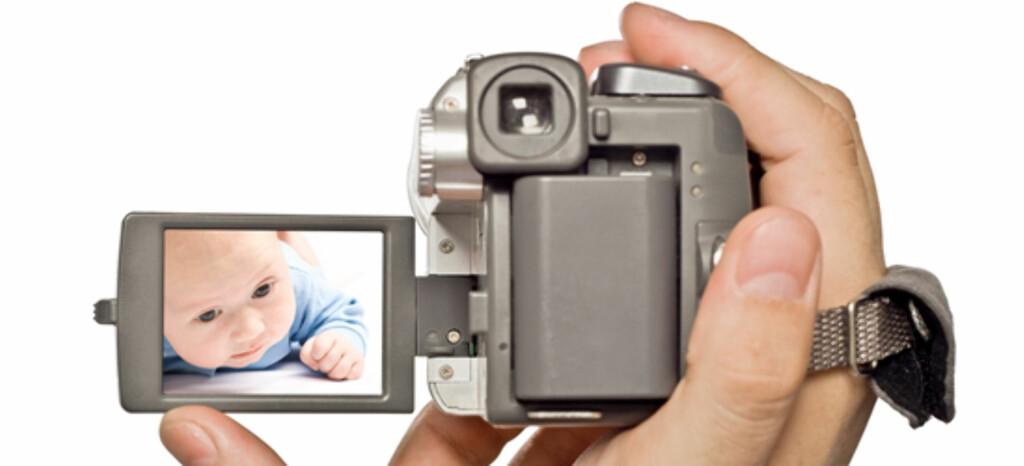 Moderne teknologi gjør det enkelt å overvåke barnevakten. Illustrasjonsfoto: Shutterstock