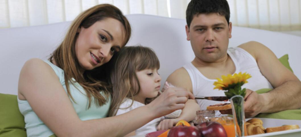 SAVNER DET IKKE: Farsdag feires ikke hjemme hos flertallet av fedrene i Pappa-panelet.