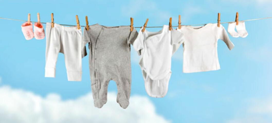 Hvor mye babytøy skal jeg kjøpe inn på forhånd? Foto: Shutterstock.com ©