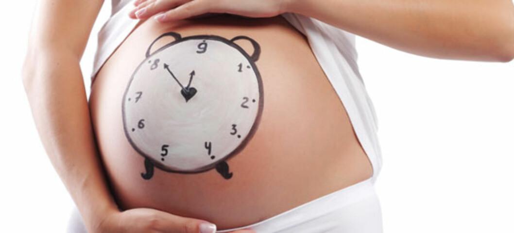 Syv dager etter termin skal du på kontroll! Foto: Shutterstock ©
