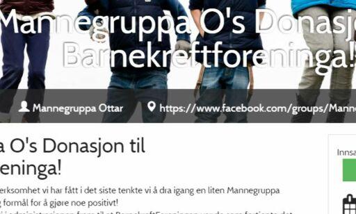 image: Mannegruppa Ottar har gitt 180 000 kroner til Barnekreftforeningen - som ikke vil ha pengene