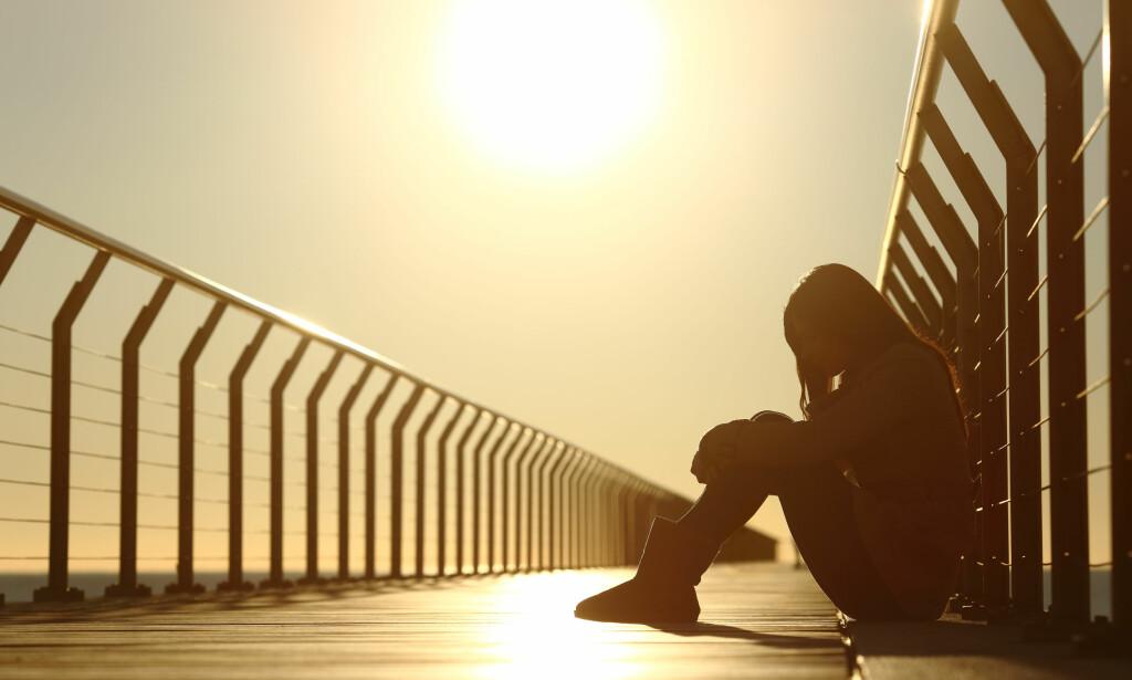 <b>SKAM:</b> En sosialt påført skamfølelse kan derimot gjøre at mennesker som trenger hjelp, ikke oppsøker den eller lar være å ta den imot. Foto: Antonio Guillem / Shutterstock / NTB scanpix