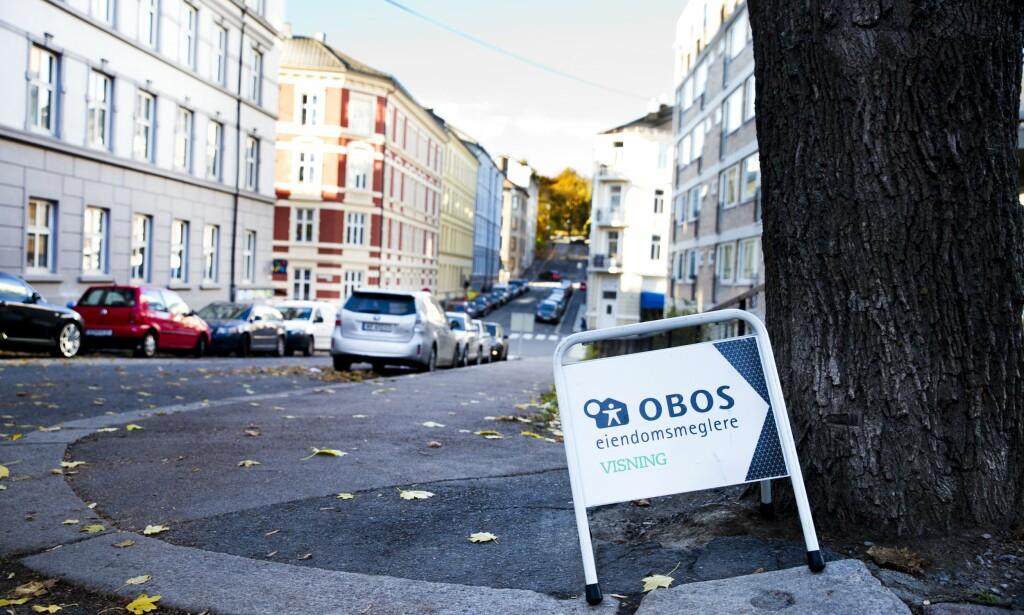 PRISVEKST: OBOS opplyser i dag at prisene på brukte OBOS-leiligheter i Oslo har steget med 27,1 prosent siden november i fjor.