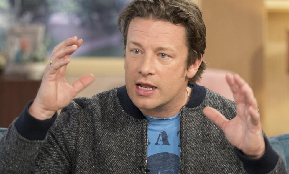 SLAKTES: Jamie Olivers paella ble ikke godt mottatt hos spanjolene. Foto: Ken McKay/ITV/REX/Shutterstock