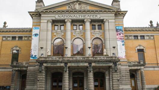 Ikke engang Høyre ser ut til å ha et hjerte for Nationaltheatret