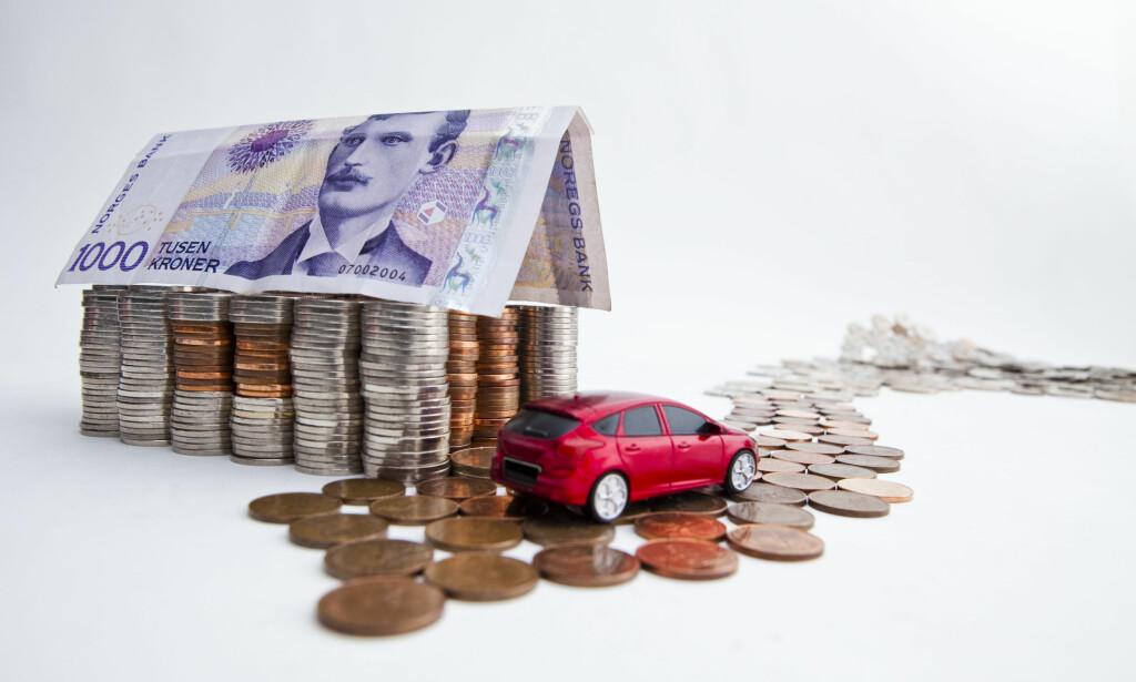 PENGER, PENGER, PENGER: Stadig flere norske husholdninger sliter med betalingsproblemer. Foto: NTB scanpix